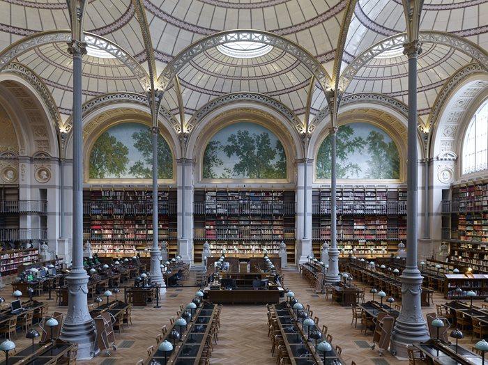 """""""Salle Labrouste"""" – Institut national d'histoire de l'art"""