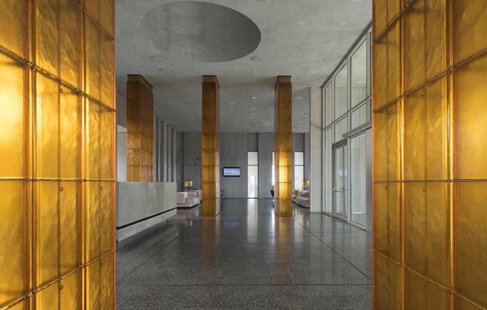 Amber business terminal Platov