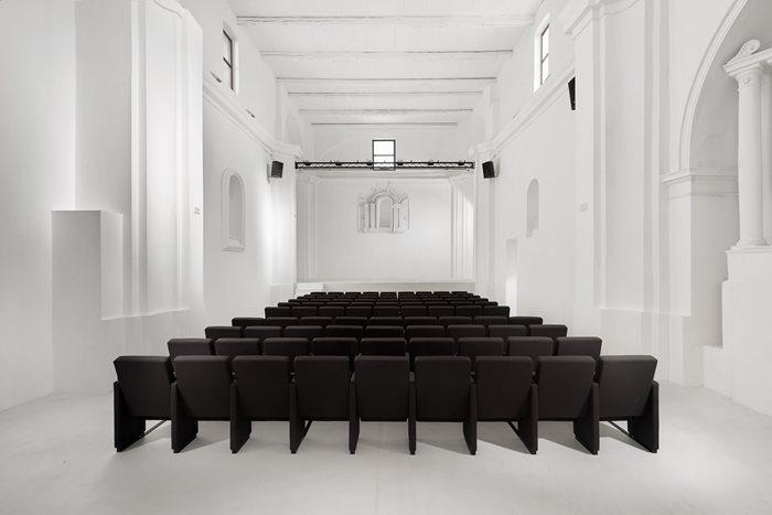 Recupero e Trasformazione della Chiesa di San Rocco in Teatro