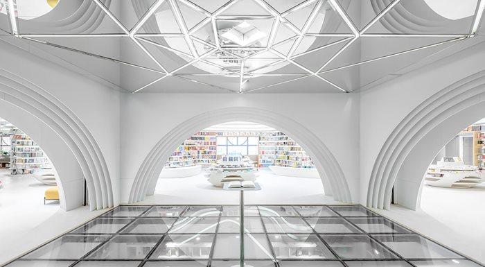 White Comedy of Xi'an Zhongshu Bookstore