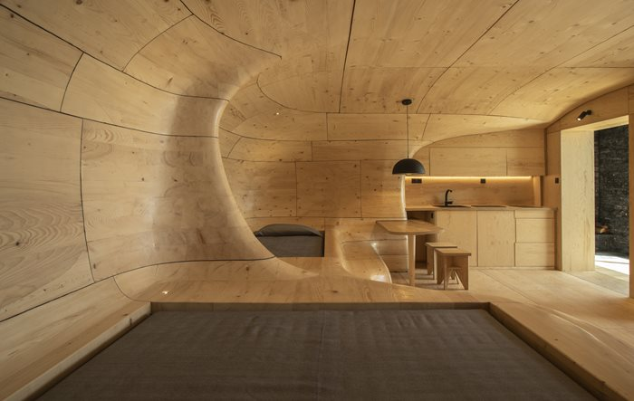 Wooden Cave