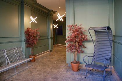 GARDENIAS INDOOR | High-back garden armchair