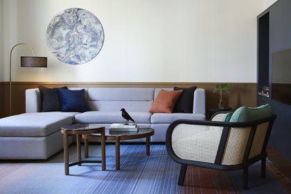 BUZZICANE   Velvet armchair