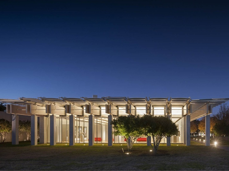 The Renzo Piano Pavilion In Fort Worth Texas Opens