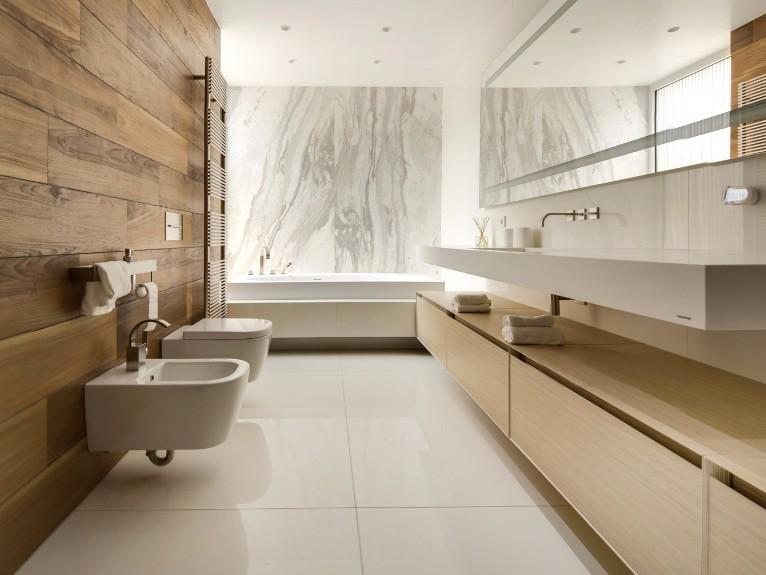 Soggiorno Moderno Bianco Interior Design : Il bagno un luogo dove volersi bene