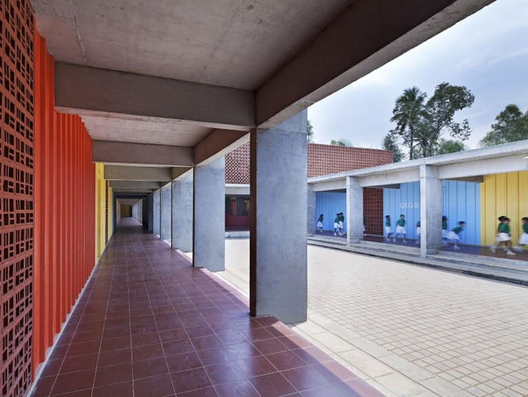 Modular Classroom Design ~ Khosla associates dps kindergarten school in bangalore