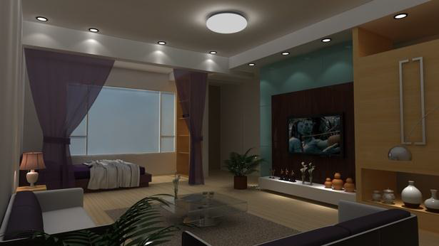 Spectacular Living Room Design and 3D Rendering - Interior Design Ideas at Your Fingertips
