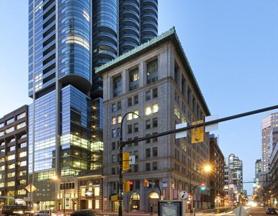 Vancouver: a tribute to the past designed for the future