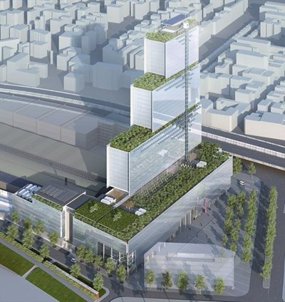 Renzo Piano's return to Paris with a new courthouse project