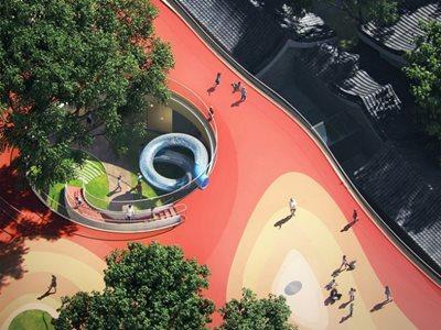 """MAD unveils its design for """"Courtyard Kindergarten"""""""