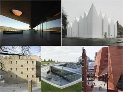 Five finalists announced for the 2015 Mies van der Rohe award