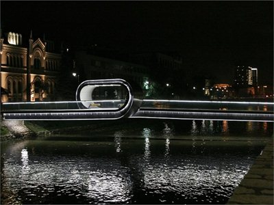 'Festina Lente': the new bridge over the Miljacka River in Sarajevo