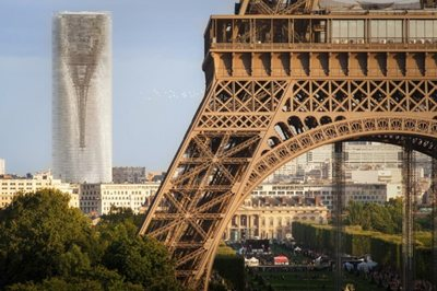 The Tour Eiffel upside-down? Is MAD Architects' Mirage