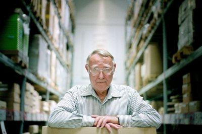IKEA founder Ingvar Kamprad dies aged 91
