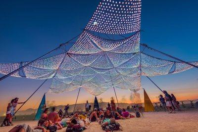 What happens at Burning Man 2017?