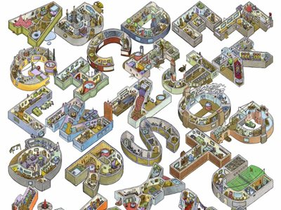 Alphabet City, Literally