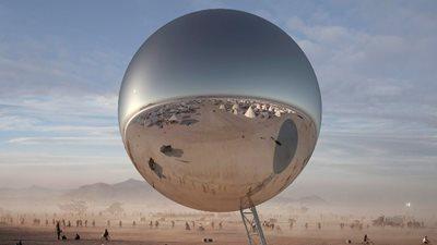 The ORB at Burning Man 2018