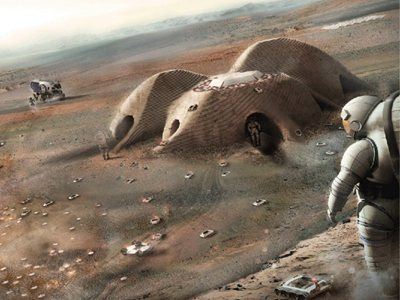Foster + Partners set out to conquer Mars