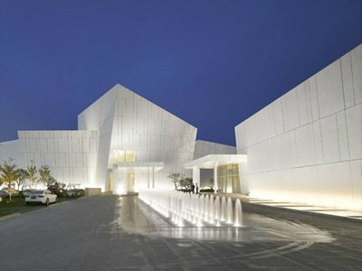 Richard Meier's first work in China: the OCT Shenzhen Clubhouse