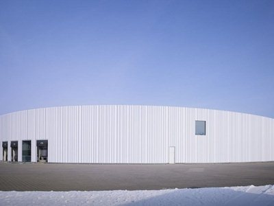 SANAA designs the industrial plant for the Vitra Campus