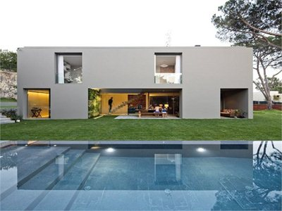 Frederico Valsassina: the House in Quinta Patino in Estoril project
