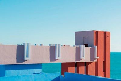 Architecture Meets Perfect Colour Palette