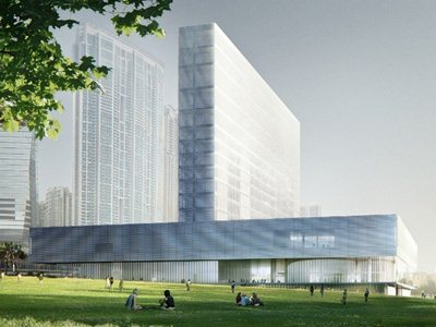 The West Kowloon Cultural District (WKCD) project has been unveiled