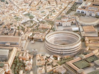 A Scale Model Displays the Glory of Ancient Rome