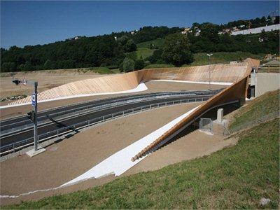 Cino Zucchi creates an 'environmental sculpture' for Lugano