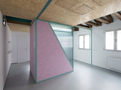 """Spanish architects elii's """"Didomestic"""" in Madrid"""