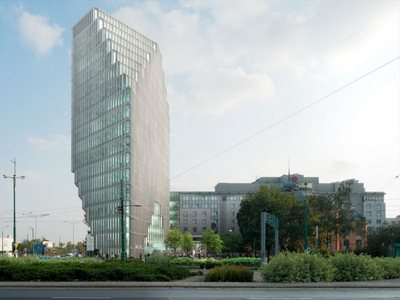 Baltyk Tower, the first MVRDV project in Poland