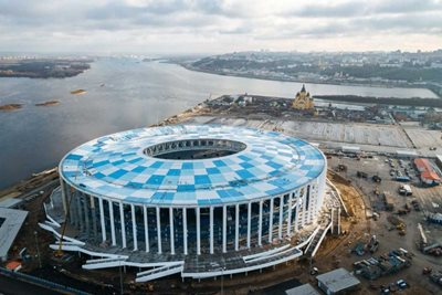 World Cup 2018 venues