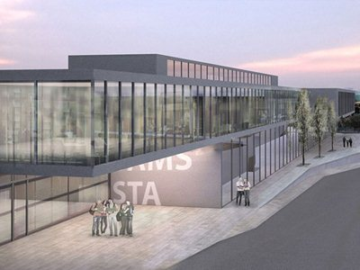 An Italian team redesigns the area of Chiasso station