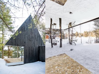 A Contemporary Reinterpretation of a Treehouse