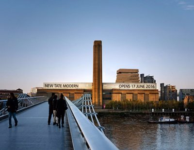 The new Tate Modern opens on 17 June 2016!