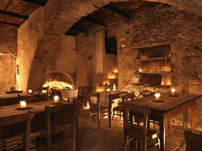 S. Stefano di Sessanio: The village hotel in the medieval town centre