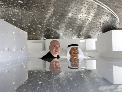 How is Jean Nouvel's Museum in Abu Dhabi progressing?